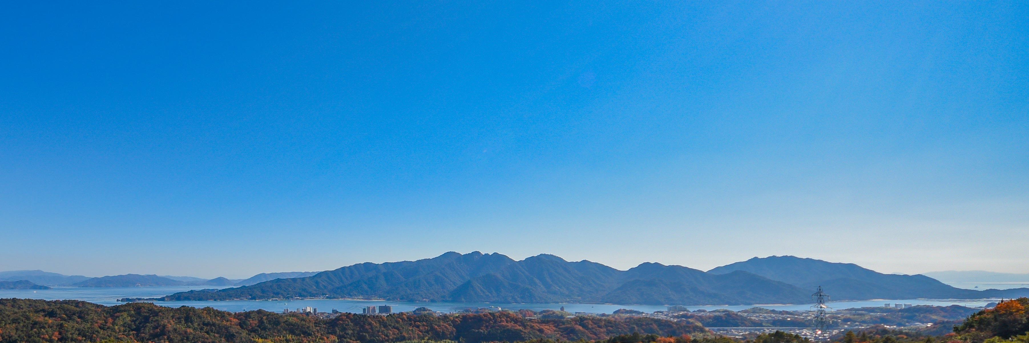20171205月光に浮かぶ宮島(昼)