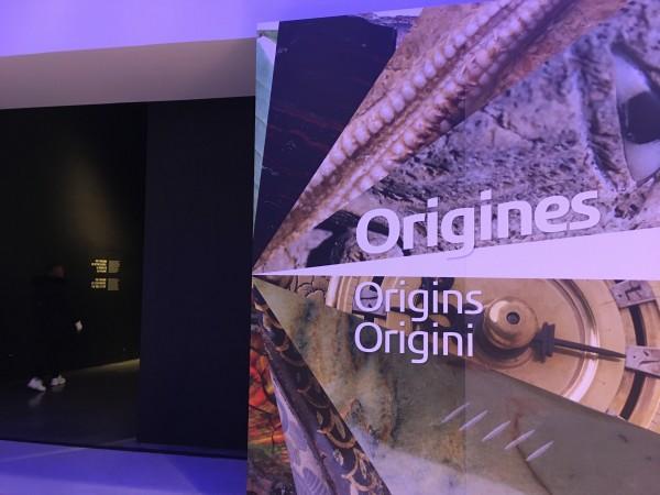 「起源」展示室