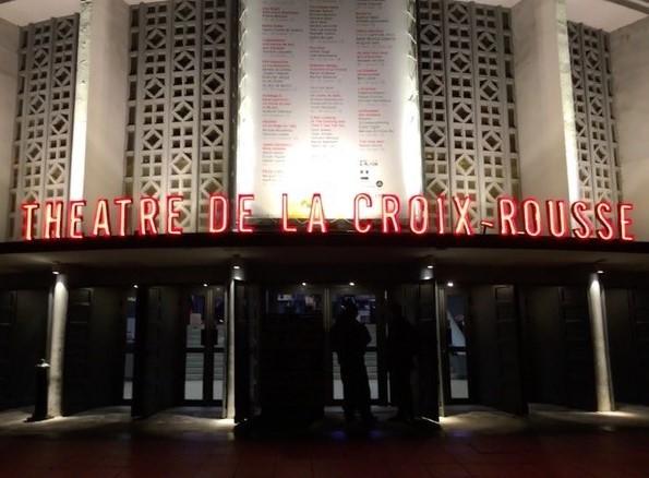 アール・デコ様式のリヨン、クロワ=ルース劇場