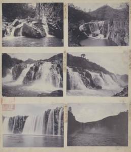 《栖鳳写真資料》滝 (3)