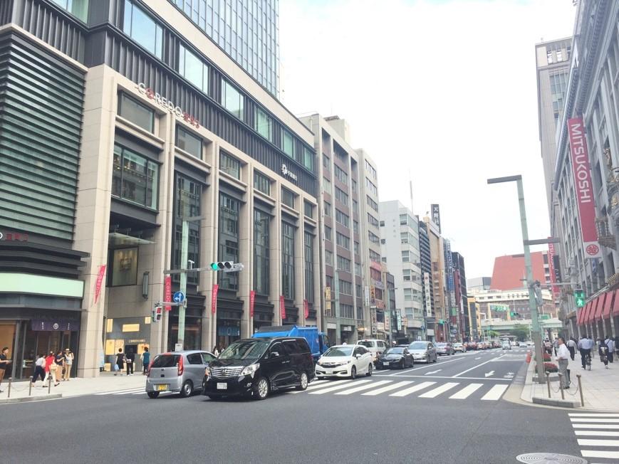 現在の日本橋室町